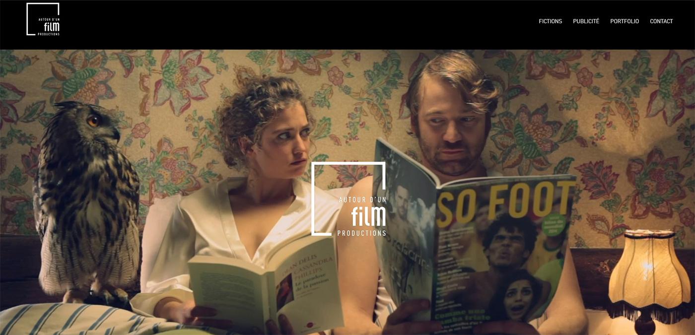 Home site web Autour d'un film