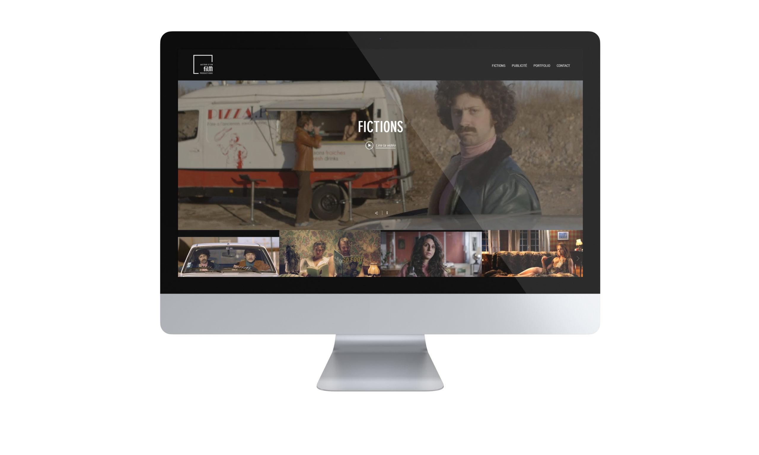 Site internet Autour d'un film