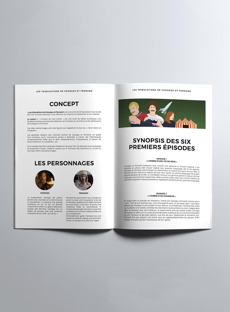 Edition Dossier de presse Georges et Fernand