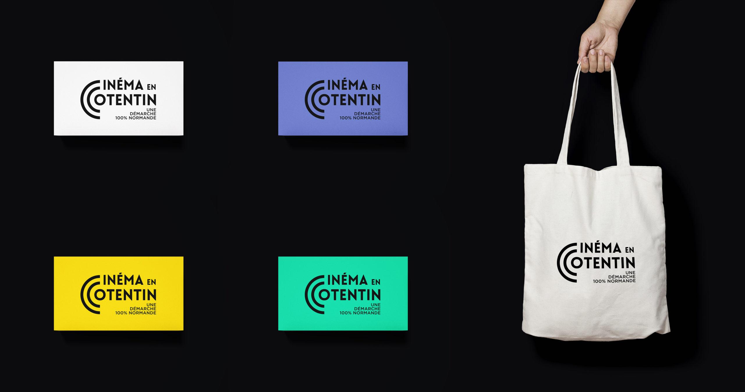 Cartes et sac Cinéma en Cotentin