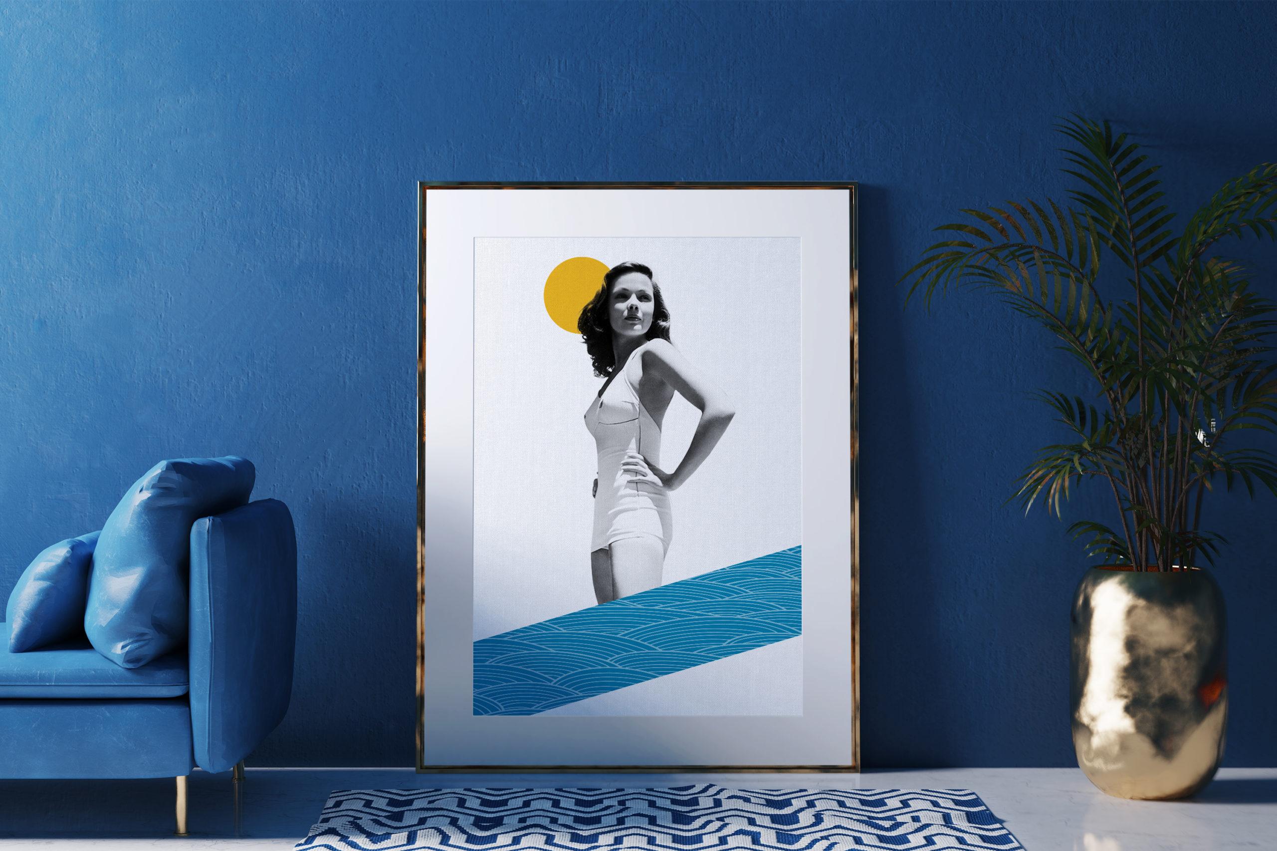 Collage-portrait-Gene-interior