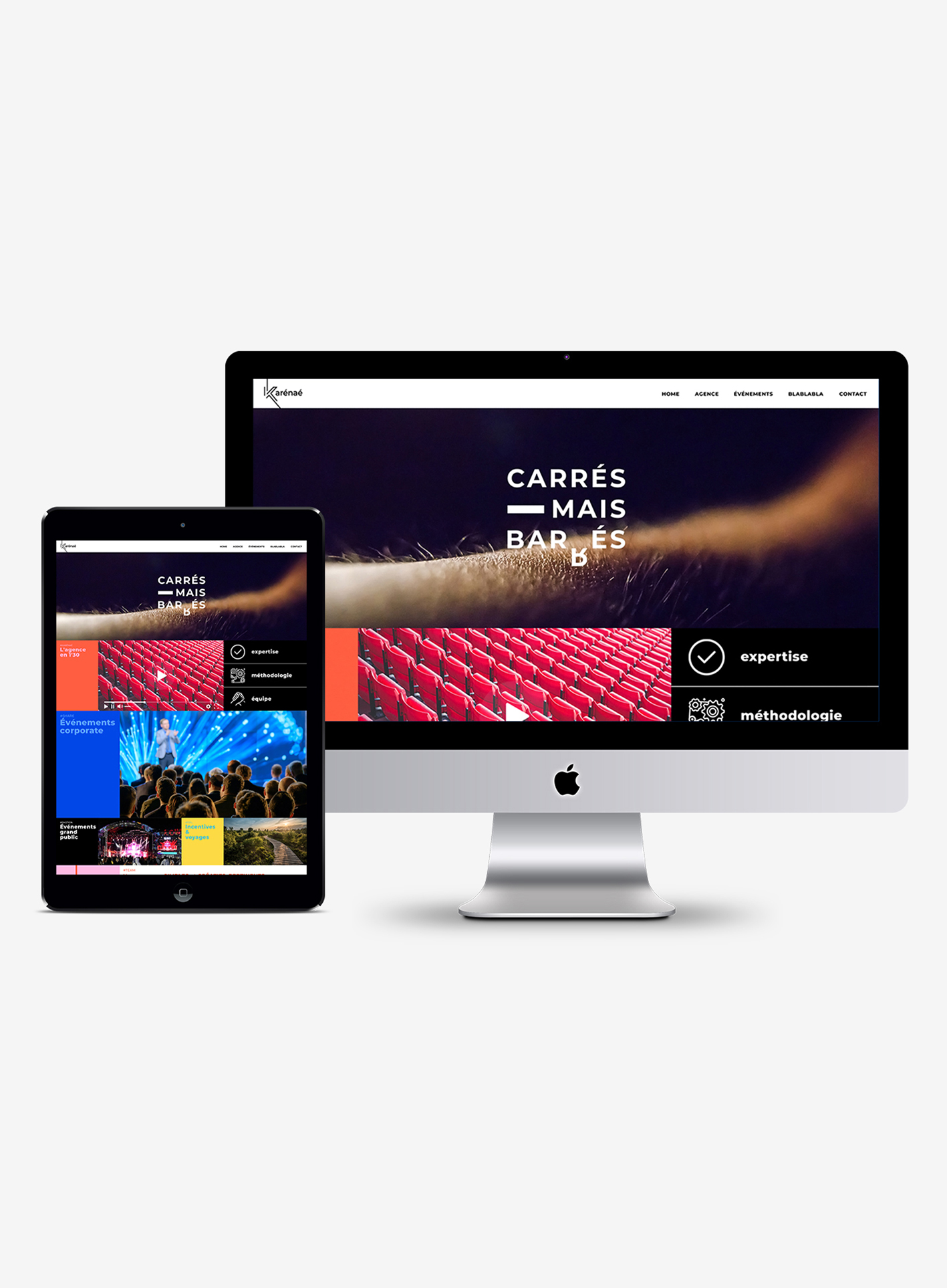 Branding et web design Karénaé