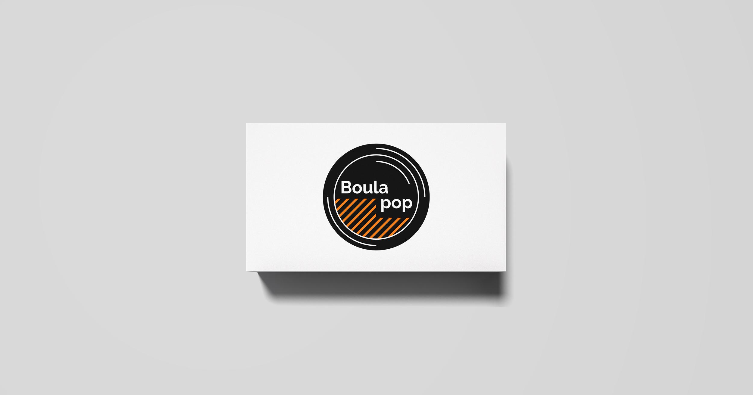 Logo Boula pop