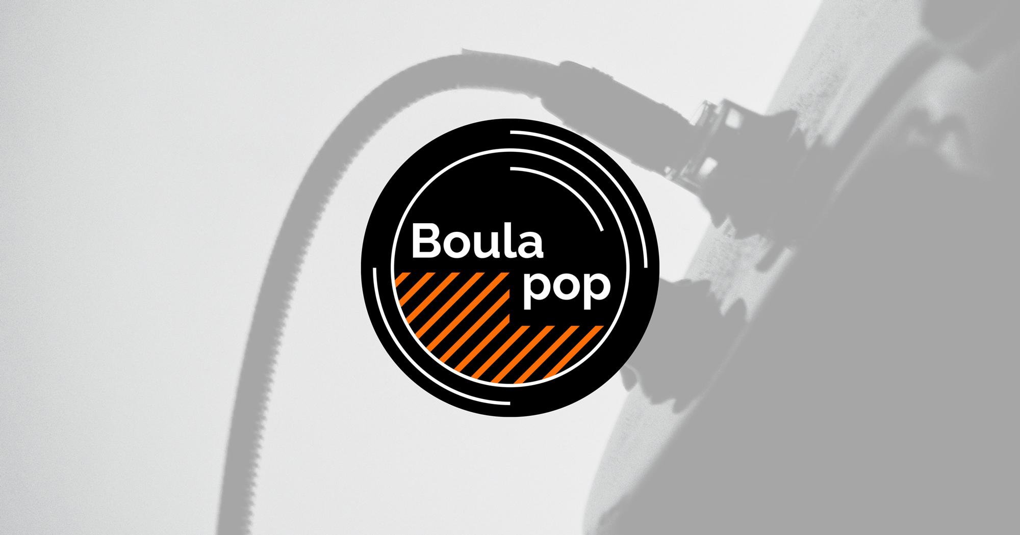 Ecran logo Boula pop