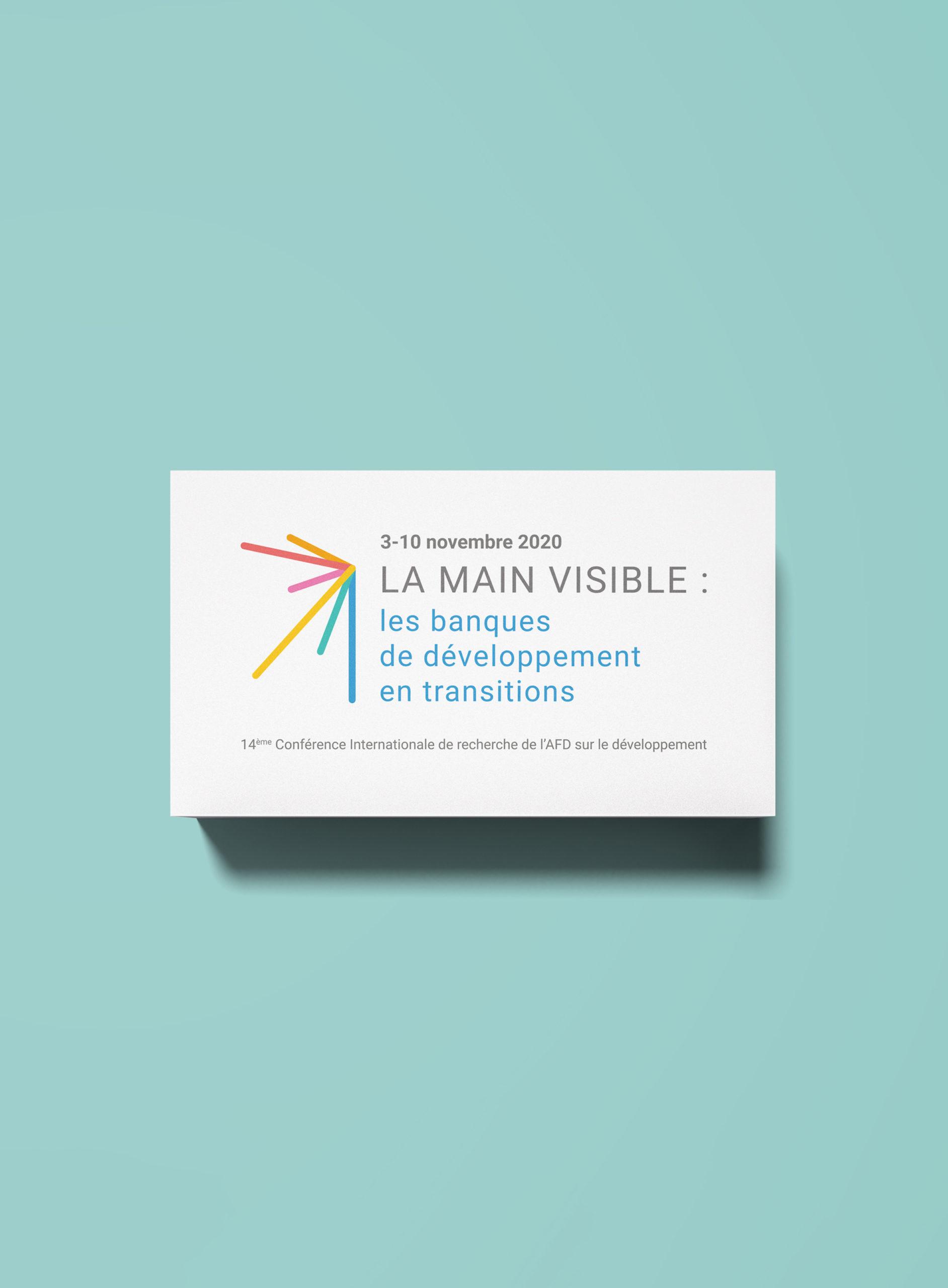 Branding La main visible AFD