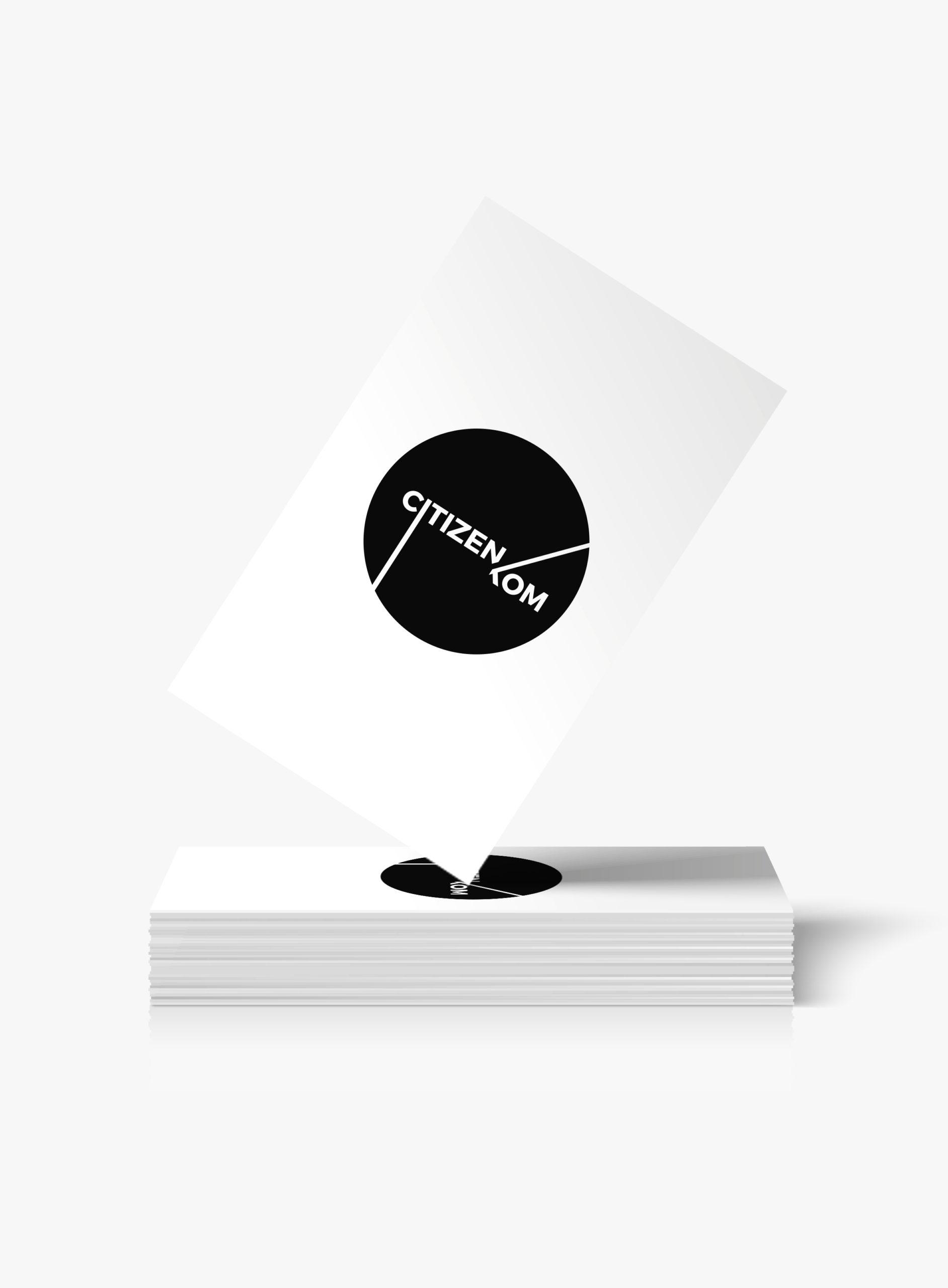 Branding et web design Citizen Kom