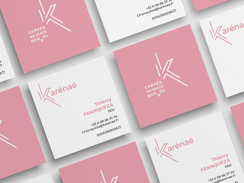 KARENAE-carte-logo-rose